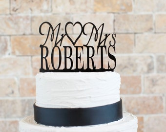 """Wedding Cake topper (Item number 10093) 1/8"""" thick acrylic"""