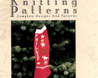 Christmas Stocking Pattern, Reindeer