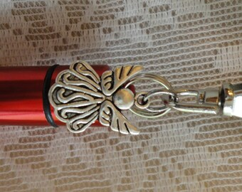 ANGEL Memorial Jewelry, Cremation Urn, Add-a-Photo, *BONUS* Purse clip, Necklace, & Keychain