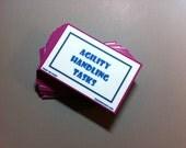 Complete Agility Handling Skills Card Pack Train 'Em Tasks - Pack of  69 cards - Performance Dog, Competitive dog training, dog agility
