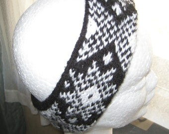 Fairisle Headband (Price reduced from NZD9.00