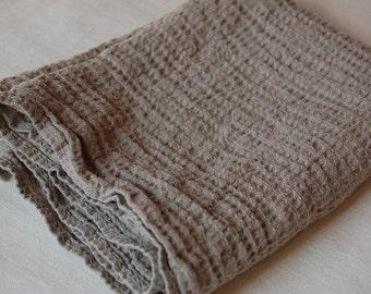 Natural LINEN Towel, Linen Hand Towel, Bath Towel, Eco Towel, Linen Waffle Towel
