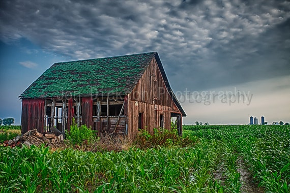 Abandoned Old Barn Fine Art Photography Decrepit Illinois