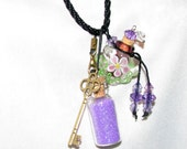 MAGIC MERMAID KEY to Mermaid's Heart can Unlock the Magic of Myrrh Kingdom with Lavender Glitter Mermaid Mist Mystical Powers of Persuasion