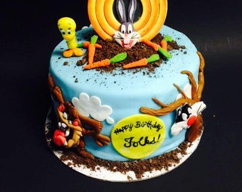 Looney Tunes Party Etsy