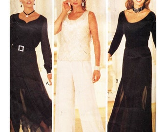 Butterick Sewing Pattern 3208 Misses' Skirt, Pants, Slip  Petite  Size:  6-8-10-12  or 14-16-18  Uncut
