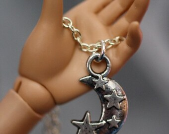 Mystic Moon BJD MSD Necklace