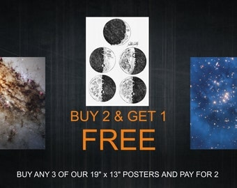 """Buy 2 and get 1 free - when buying 13""""x19"""" or 32.9x48.3 cm posters"""