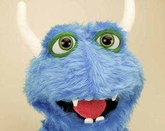 Custom Made Professional Monster Puppet / muppet with hand rods