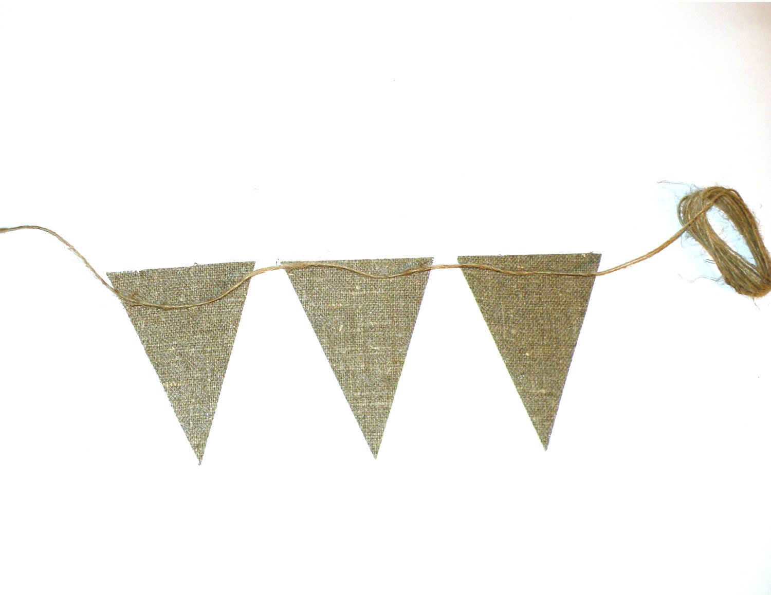 how to make a burlap flag banner