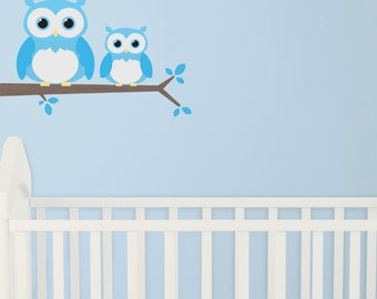 Hoot Boys Fabric Wall Stickers/Wall Decals