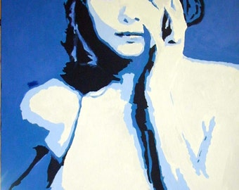 Michelle Pfeiffer - Original Pop art painting