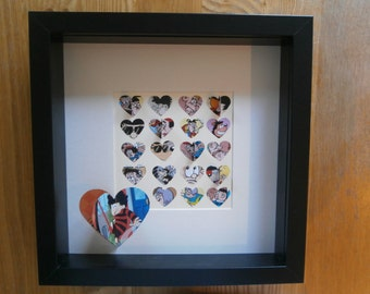 Personalised 3D Beano picture, comic character gift