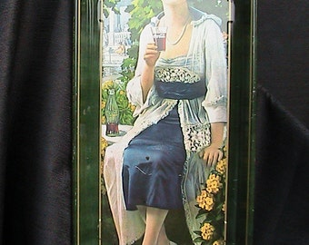 Coca-Cola Company/Vintage Tray 1970s Collectible Flapper Girl Art Deco Coke Reproduction Coke Tray Vintage Decor Coke Collection