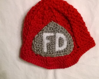 Baby Fireman Hat