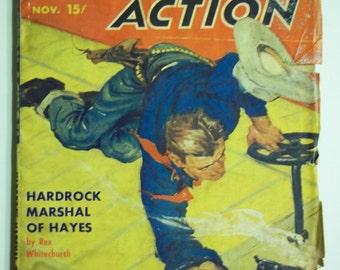 Western Action Vol. 14 No. 1 November 1949 Western Pulp Magazine
