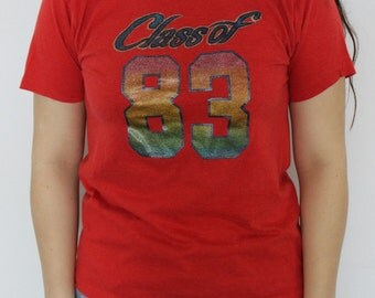 Vintage Class of 1983 T-Shirt 1980s