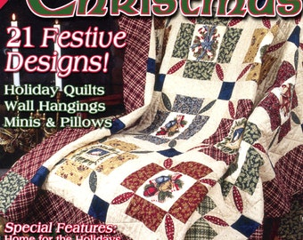 Quilting for Christmas from The Quilter Magazine, Winter 2003