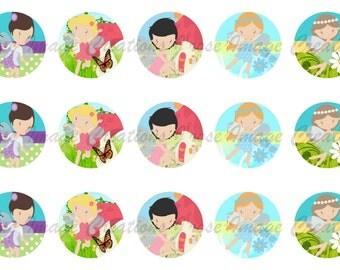 Fairies Bottle Cap Images *coupon codes in description*