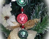 Rounded Bottle Cap Ornament - Lagunitas Brewing Company