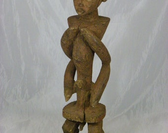 A Superb, African Tribal Art, Chamba Figure, Antique, Collectible, African Art