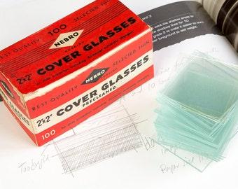 Vintage slide glass