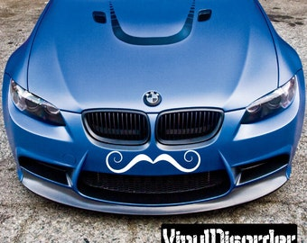 Mustache Vinyl Wall Decal Or Car Sticker - Mvd001ET