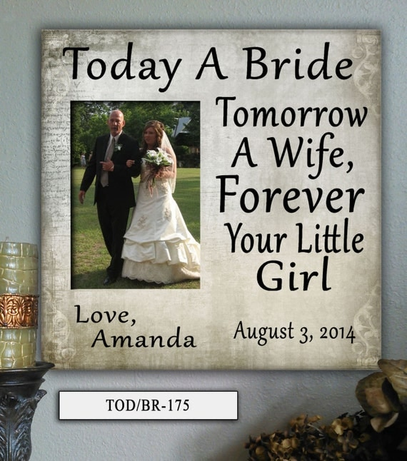 Memorable Wedding Gifts For Parents : Parents wedding gift, Parents of the bride, Father of the bride gift ...