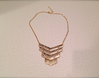 Gold Tier Necklace