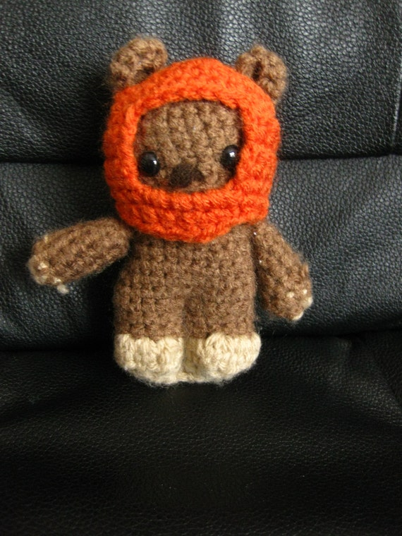 Amigurumi Snowman Pattern : Star Wars Ewok Crocheted Amigurumi by CraftingbyMissy on Etsy