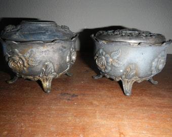 Antique Salt Pots