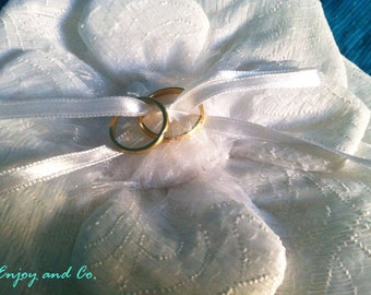 Pillow for wedding rings