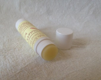 Violet's Cravin' Bacon Lip Balm - All Natural; Healing, Homemade; Natural SPF