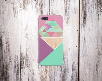 Geometric Mint Case for iPhone 6 6 Plus iPhone 7  Samsung Galaxy s8 edge s6 and Note 5  S8 Plus Phone Case, Google Pixel