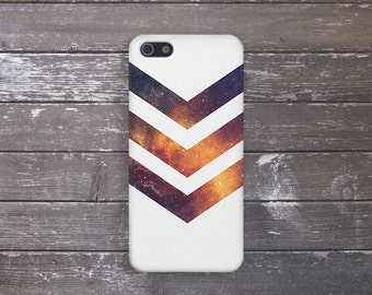 White Chevron Galaxy Stars Case, iPhone 7, iPhone 7 Plus, Protective iPhone Case, Galaxy s8, Samsung Galaxy Case Note 5, CASE ESCAPE