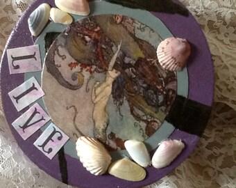 Live Deeply Mermaid Box