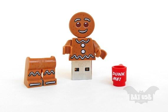 Gingerbread Man usb flash drive 8/16/32/64GB Memory Stick