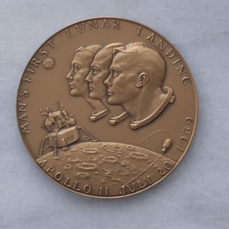 apollo 11 moon landing commemorative coin - photo #32