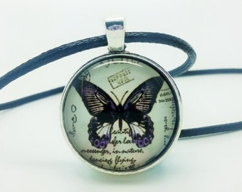 Beautiful Butterfly Pendant Necklace (1)