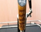 Personalized Tap Handle with chalkboard option