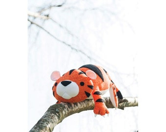 Tyler the Tiger Toy Sewing Pattern (803601)