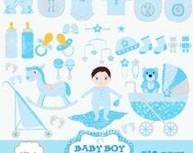 market baby dusche clipart grafik