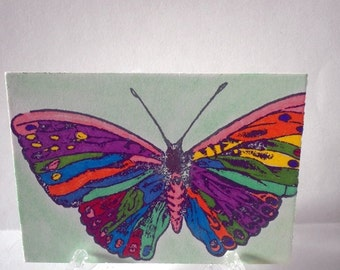 ACEO Art Card-Butterfly
