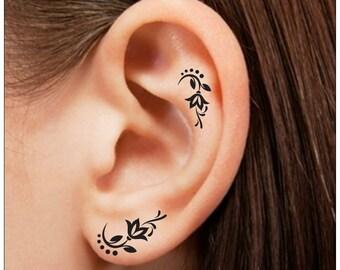 Finger tattoo etsy for Temporary finger tattoos