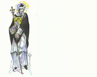 Patrick (Saint) of Ireland Card