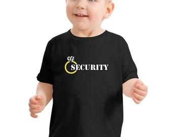 Ring Security, Ring Security shirt, Ring bearer gift, Ring bearer Shirt, Ring bearer gift, DIY wedding, Flower girl, by VitalBridalKeepsakes