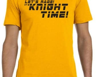 Let's Rage its Knight Time - UCF Knights Football Tee - Go Knights UCF Shirt College Football - Limited Quantity