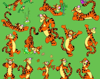 Tigger Clipart Disney Cartoon Character 14 PNG Digital Graphic Winnie The Pooh Invitations Party Clip Art Scrapbooking Printable 300 dpi