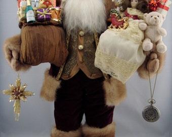 """Regal Santa - Santa Claus Doll - 24"""" Tall"""