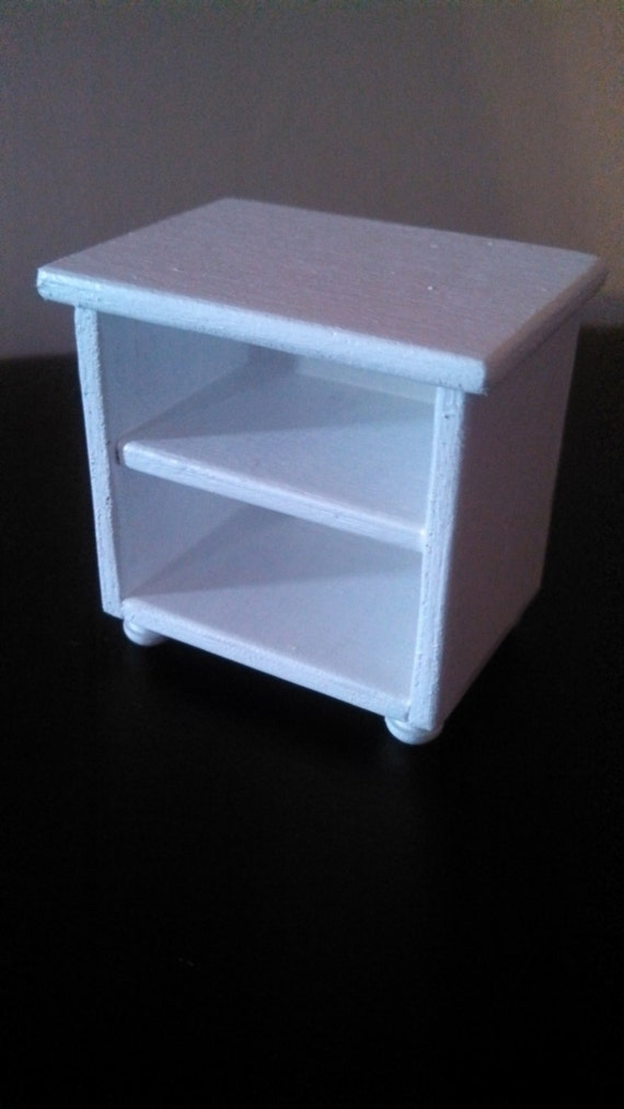 White bedside table 1 6 scale table 1 6 scale by for 1 6 scale table